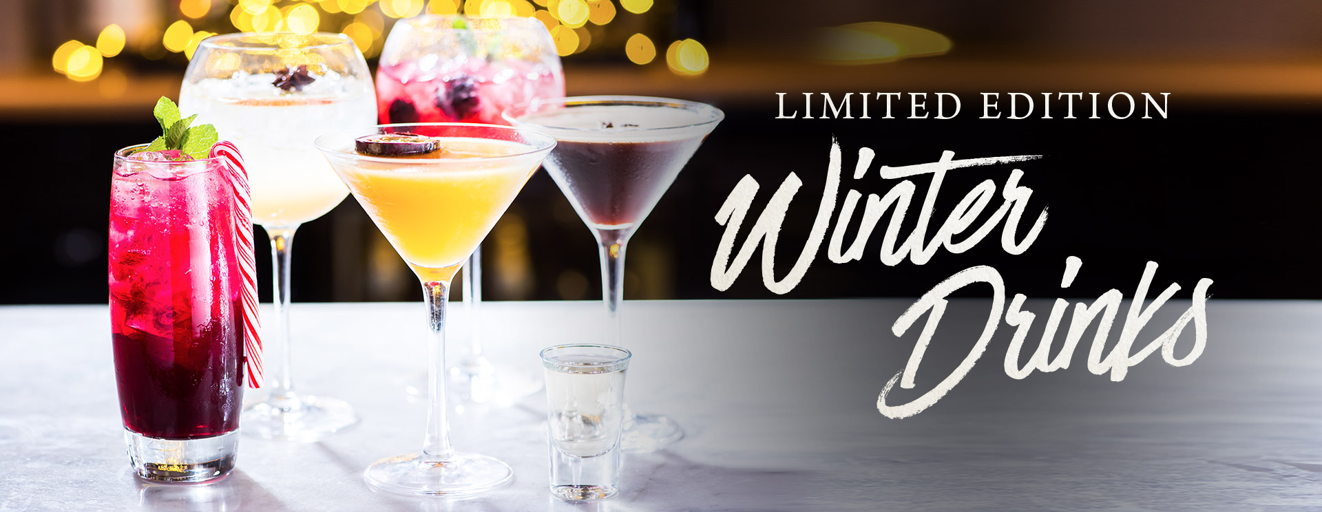 Limited edition winter drinks at The Blue Anchor