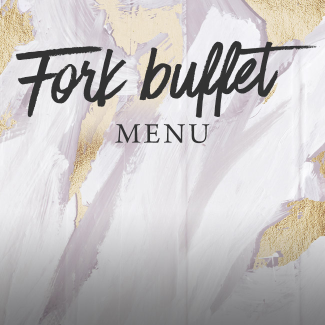 Fork buffet menu at The Blue Anchor