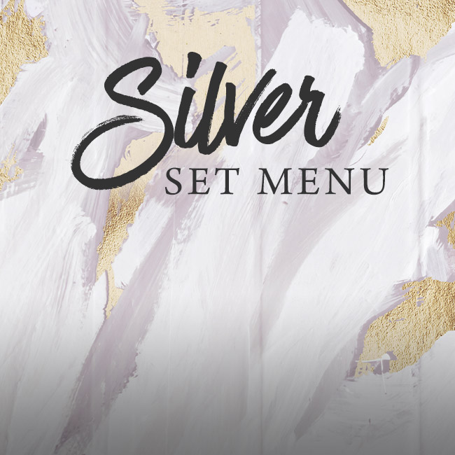 Silver set menu at The Blue Anchor