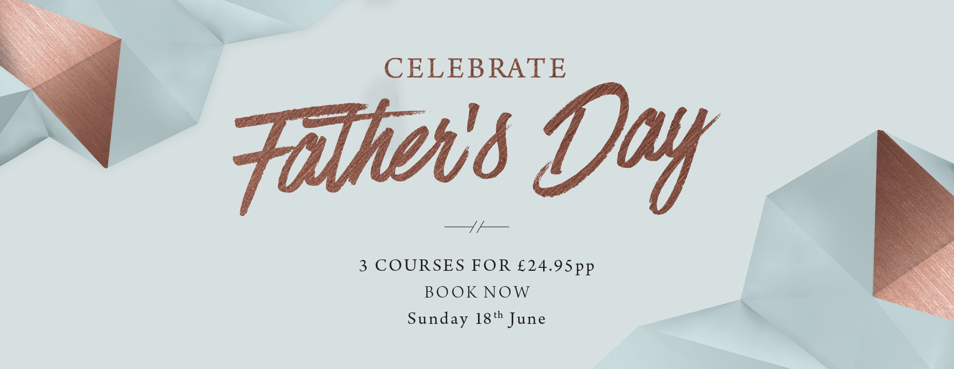 Father's Day at The Blue Anchor - Book now